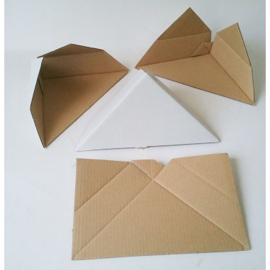 Corrugated cardboard corner protectors
