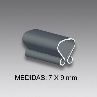 PINZAS a presión tipo ACLE of 7 mm...