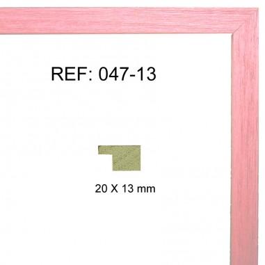 Moldura rosa 20x13 mm