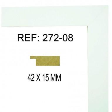 Moldura Blanco 42 x 15 mm