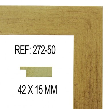Moldura Oro 42 x 15 mm