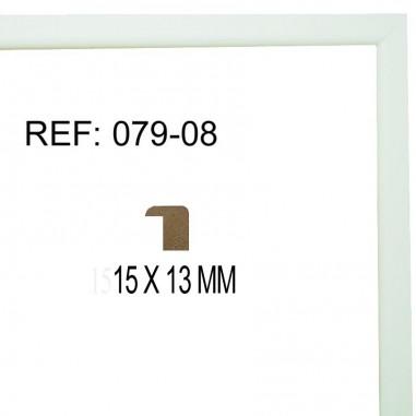 Moldura Blanca15x15 mm