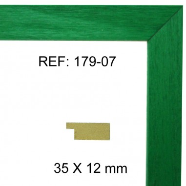 Green moulding 35x13 mm