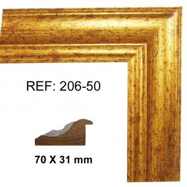 Moldura Oro 70x30 mm