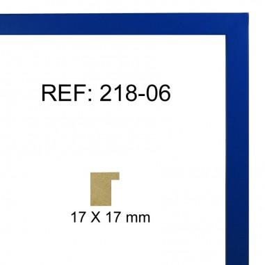 Moldura Azul 17 x 17 mm