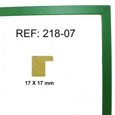 Moldura Verde17 x 17 mm