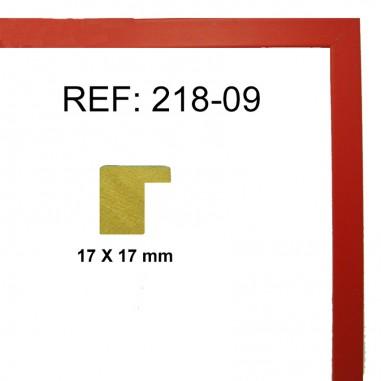Moldura Roja 17 x 17 mm