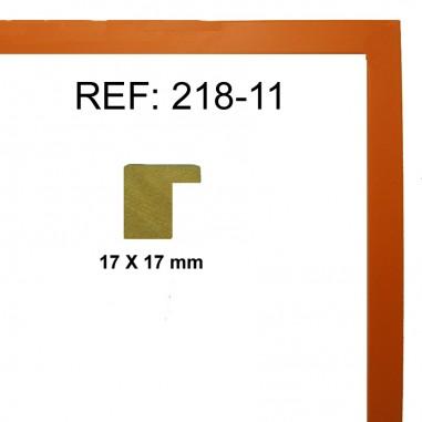 Moldura Naranja 17 x 17 mm