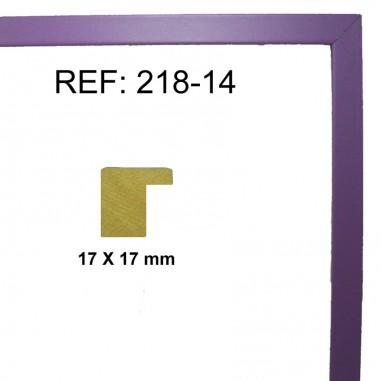 Purple moulding 17 x 17 mm
