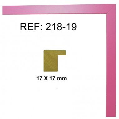 Moldura Rosa Fucsia 17 x 17 mm