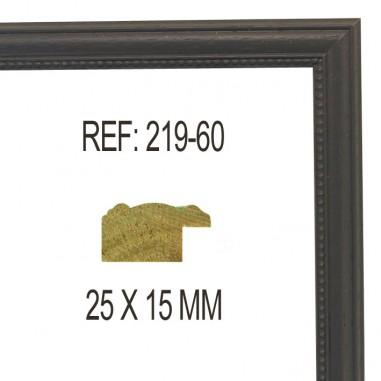 Moldura Gris 25x13 mm