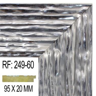 Moldura Plata 95 x 20 mm