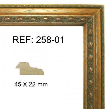 Moldura Nogal 45 x 25 mm