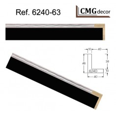 120 X 81 Cm PASPARTU DALER ALMA BLANCA DE 1.4mm EN BOLSAS DE 5 HOJAS