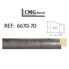 PORTAFOTO CMGdecor P- 271- PARA MESA CON CRISTAL Y TRASERA MDF DE 2,5 mm