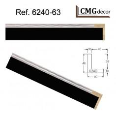 PORTAFOTO CMGdecor P-DM2-01 PARA MESA CON CRISTAL Y TRASERA MDF DE 2,5 mm