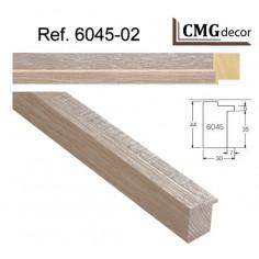 MOLDURA MDF ORO DE 80 X 15 mm