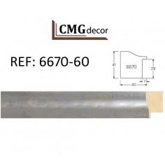 PORTAFOTO CMGdecor-P-F14- PARA MESA CON CRISTAL Y TRASERA MDF DE 2,5 mm