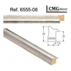Espejo de Pared hecho en madera CMGdecor MOD: E-209-50 Espejo decorativo