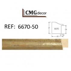 Espejo de Pared hecho en madera CMGdecor MOD: E-209-60 Espejo decorativo
