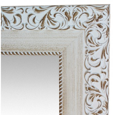 Wall mirror White with CHIPBOARD...