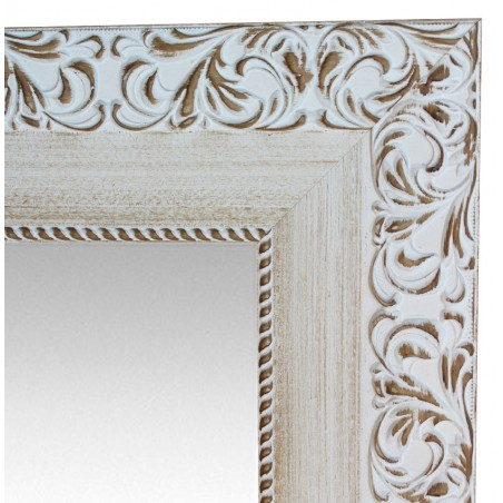 Espejo de pared con moldura de MDF modelo E-DM08