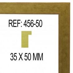 MOLDURA PLATA PLANA DE 32 X 14 mm